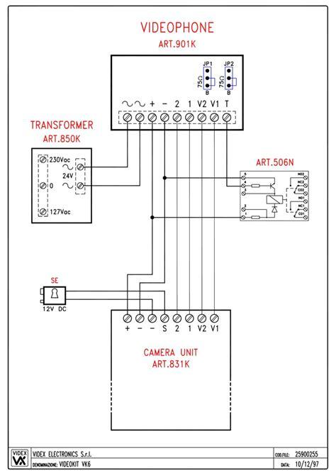 videx wiring diagram wiring diagram schemes