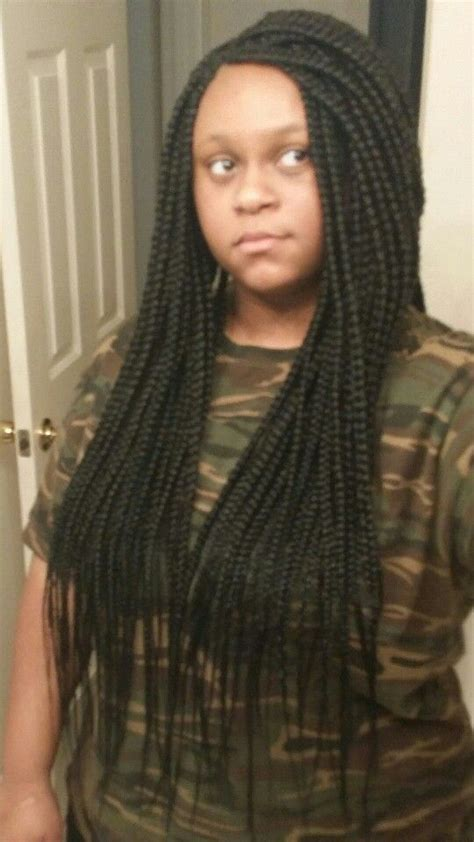 medium box braids with human hair 17 best ideas about medium sized box braids on pinterest