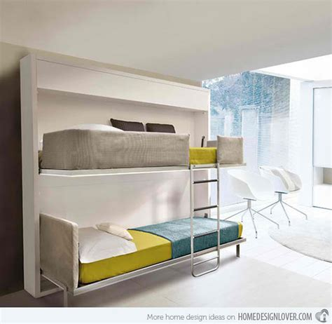space saving double bed 15 space saving wall beds for small bedrooms home design