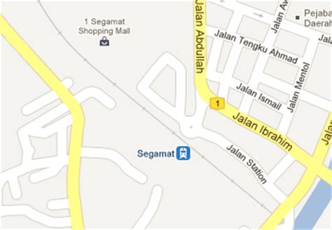 Ktm Intercity Map Segamat Railway Station Mrt My