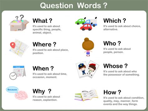 wh questions printable flash cards question words free poster kidspressmagazine com