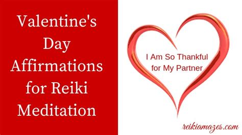 valentines day affirmations  reiki meditation reiki