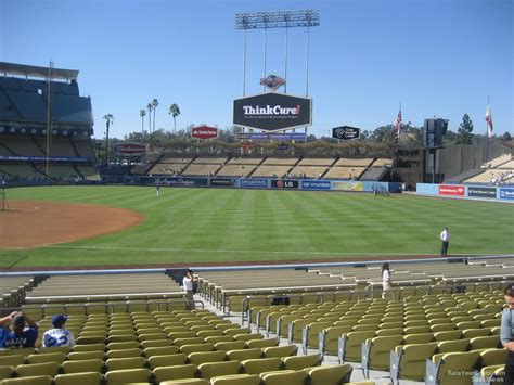 Dodger Stadium Sections by Dodger Stadium Section 30 Rateyourseats