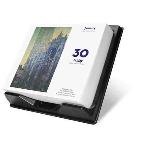 monet 2015 desk calendar 9783836552547 calendars com