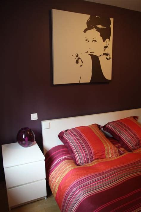 chambre adulte color馥 photo chambre et peinture d 233 co photo deco fr