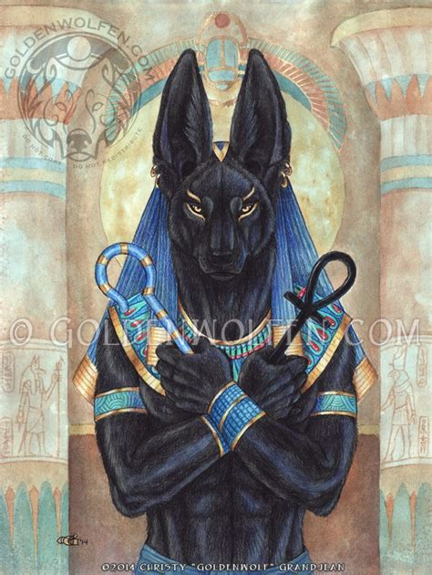 anubis patron of lost souls wicked haven blog
