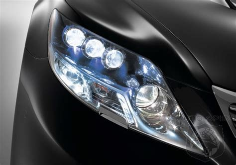 Led Auto Ls by A Look At The New Led Headlights On The Lexus Ls600h