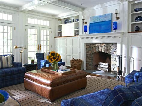 blue white living room photo page hgtv