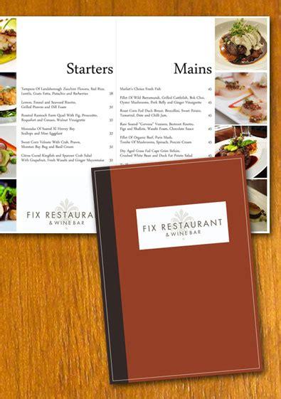 Free Sle Restaurant Menu Template Free Restaurant Newsletter Templates