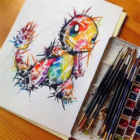 artista recrea asombrosas ilustraciones de los pok 233 mon m 225 s