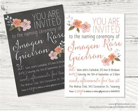 best 25 naming ceremony invitation ideas on pinterest