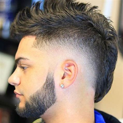 wonderful thick mohawk fade for thick mohawk fade 15 best 27 best hairstyles for men with thick hair mohawks