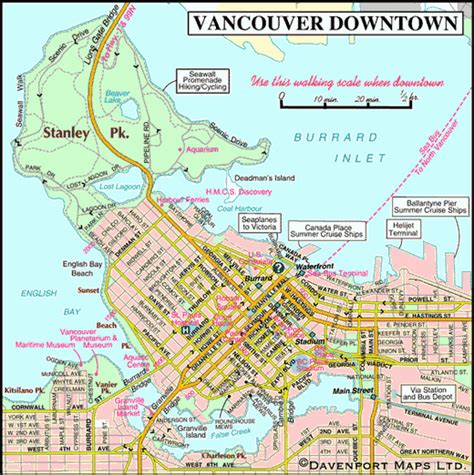 printable map vancouver bc map of bc canada british columbia book covers