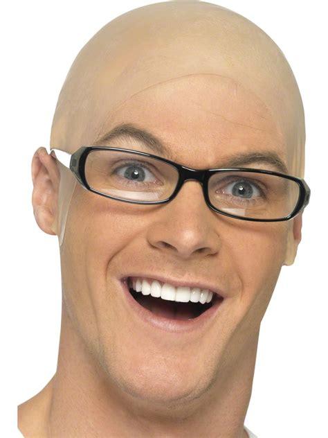 bald head bald skin head 97664 fancy dress ball