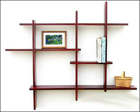 wooden wall mounted shelf designs woodworking community