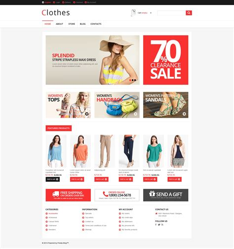 Woocommerce Themes Clothing | responsive clothes store woocommerce theme 46434