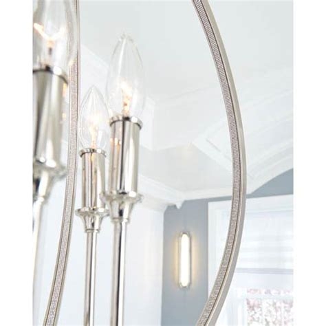mill mason lighting mill mason monticello polished nickel six light