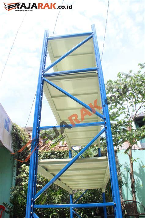 Rak Gudang Medium Duty Kapasitas 500 Kg T200 Cm jual rak gudang medium duty tipe rr 50 tinggi 250 cm