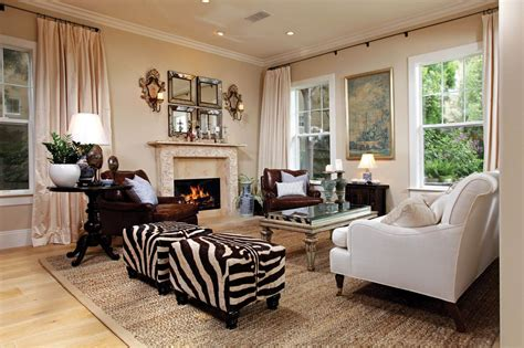 Print Chairs Living Room Design Ideas 17 Zebra Living Room Decor Ideas Pictures