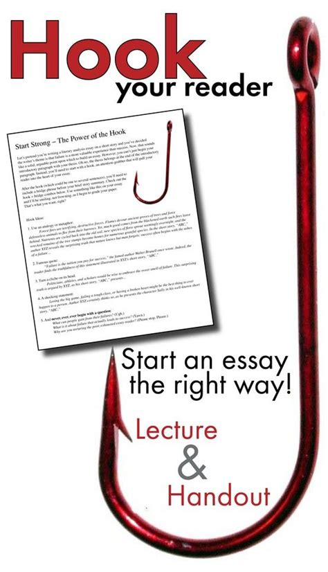 A Hook For An Essay by Hook The Reader With Best Launch For An Introductory