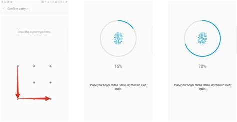 pattern unlock key how to set up your fingerprint on galaxy note 7 android