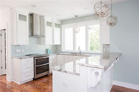 green cabinets cottage kitchen sherwin williams the walls are sherwin williams copen blue sw 0068 and