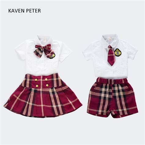 kindergarten uniform pattern uniform girls promotion shop for promotional uniform girls