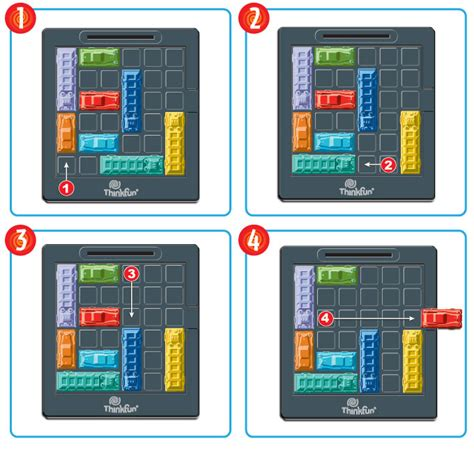 Play Room Escape Games Online - rush hour 174 thinkfun
