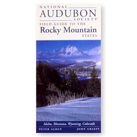 national audubon society field guide to the rocky