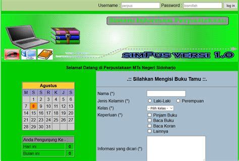 Buku Original Aplikasi Manajemen Database Pendidikan Berbasis Web source code php aplikasi perpus sekolah hi codding