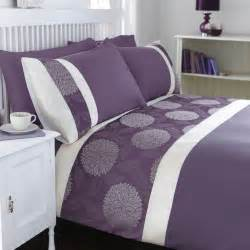 catherine lansfield mei purple bedding set up to 60