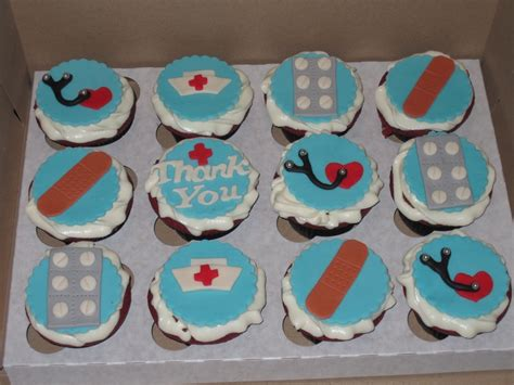 Nursing Cupcake Decorations by Themed Cupcakes Cakecentral