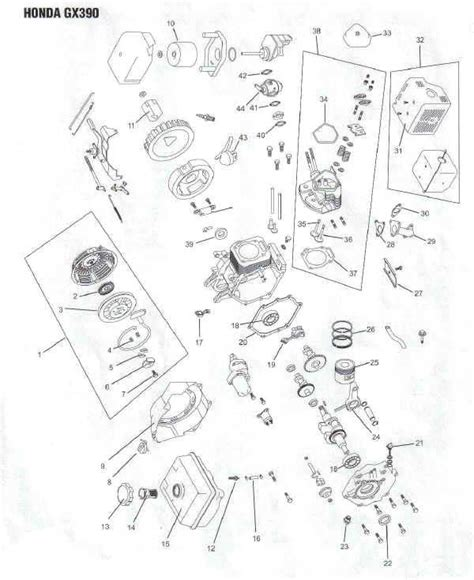 honda small engine illustrated service manual by cycle soft issuu honda gx390 engine parts diagram lawnmower pros
