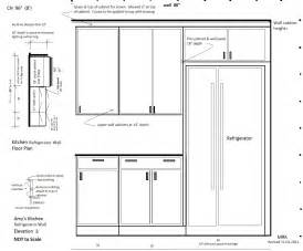 Home gt kitchen gt kitchen elevation dimensions gt glamorous refrigerator