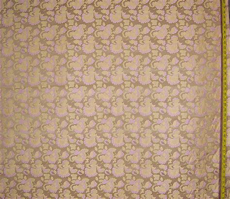 Green Home Decor Fabric by Vintage Iris Brocade Fabric 1 2 Yd