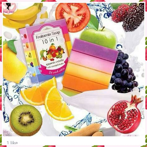 5 Pcs Fruitamin Soap 10 In 1 giffarine for malaysia cosmetics skin care health foods