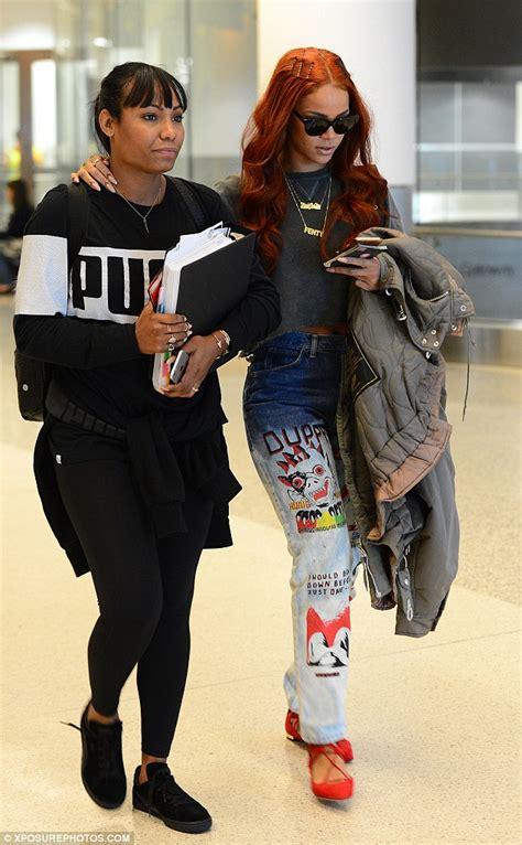 Mirhanda Bling Backpack rihanna looks effortlessly cool in patterned during