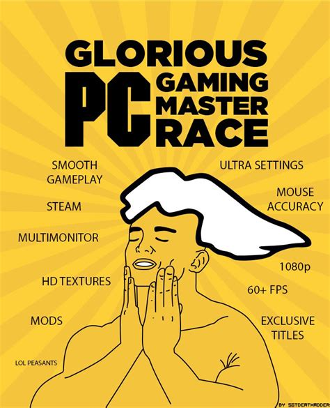 Pc Master Race Meme - console vs pc gaming spiceworks