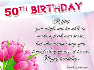 50th birthday wishes messages and 50th birthday card wordings wordings and messages