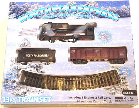 north pole express battery operated christmas holiday