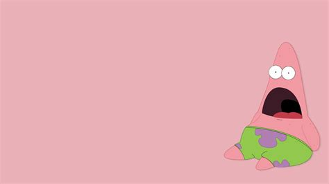 Meme Backgrounds - minimalistic pink funny meme spongebob