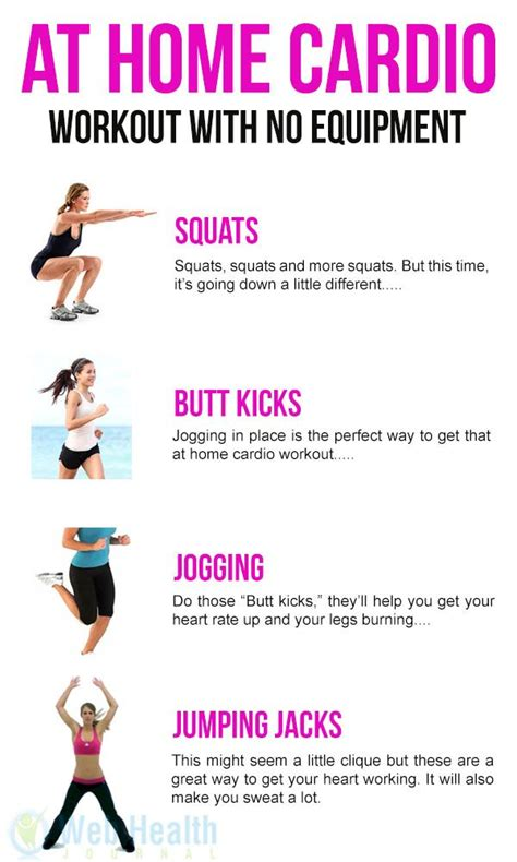 25 best ideas about home cardio workouts on
