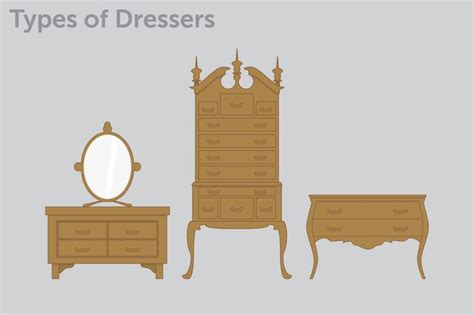 furniture types types of dressers hunker