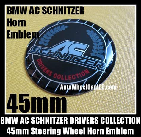 Emblem Stir Bmw Hamann 45mm bmw ac schnitzer steering wheel horn emblem 45mm drivers collection badge aluminum alloy bmw