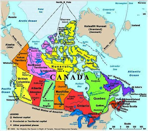 map of canada and lakes canada map with rivers