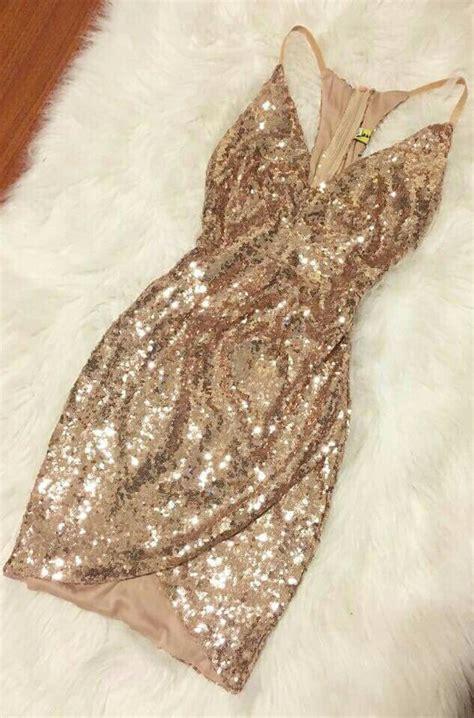 kleid glitzer gold glitter outfits   kleider