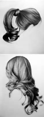 pencil drawing of hair styles of best 25 drawing hair ideas on pinterest how to draw