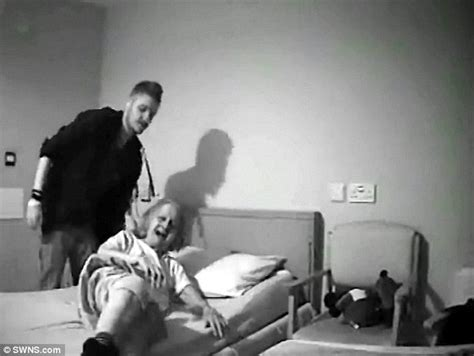 hidden cameras in bedrooms somerset carer jailed after he was filmed abusing oap with