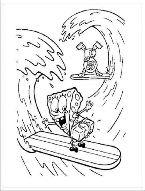 37 dessins de coloriage Bob L'éponge à imprimer