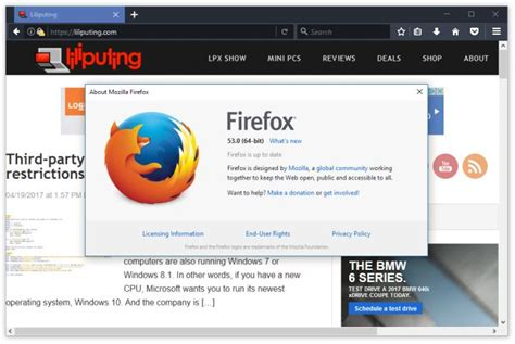 mozilla mac themes firefox 53 brings new graphics engine new themes new